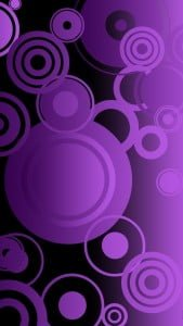 iPhone 5 Wallpaper Colorful Circles 3