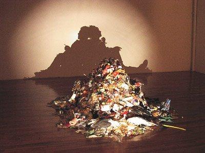 Çöp ile sanat