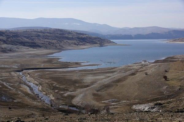 çamlıdere barajı kuruyor