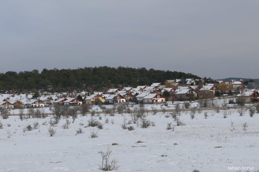 çamlıdere kara kış
