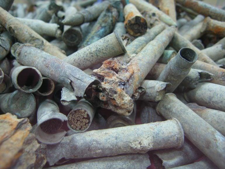 çanakkale savaşı mermileri