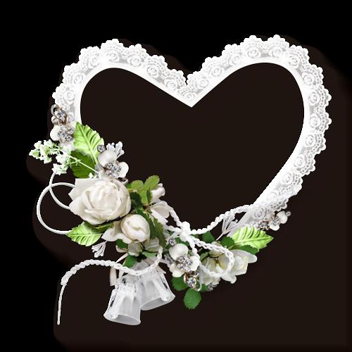 çiçekli kalp