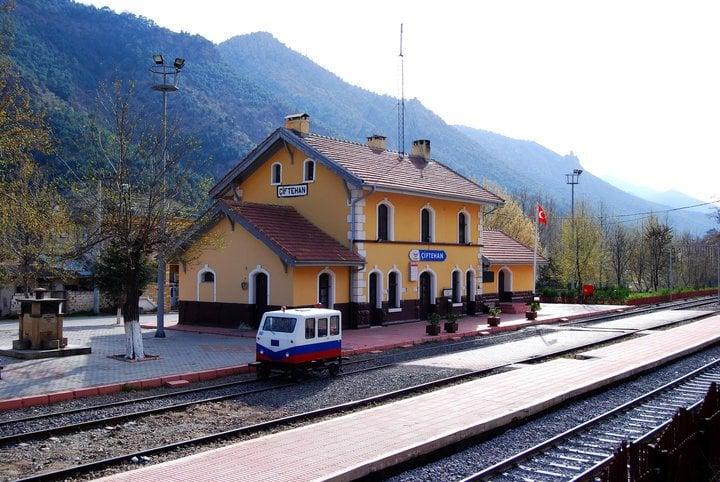 çiftehan tren istasyonu