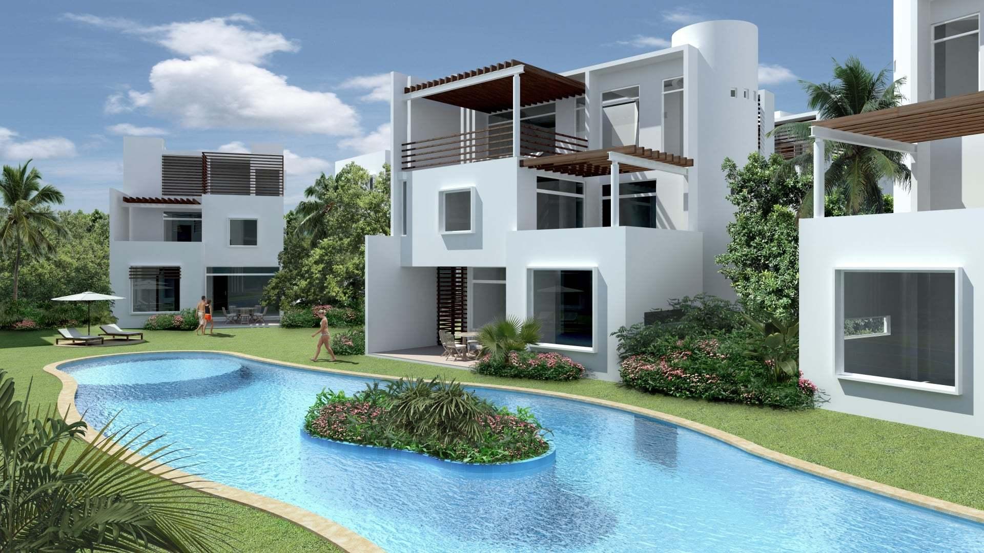 İki Villa'ya Bir Havuz