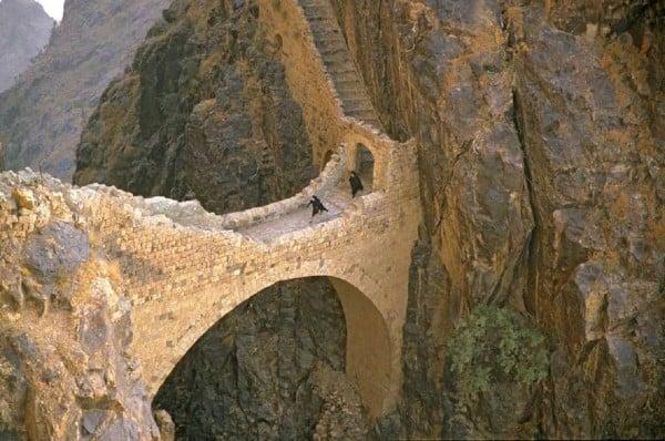 İlginç köprü manzarası