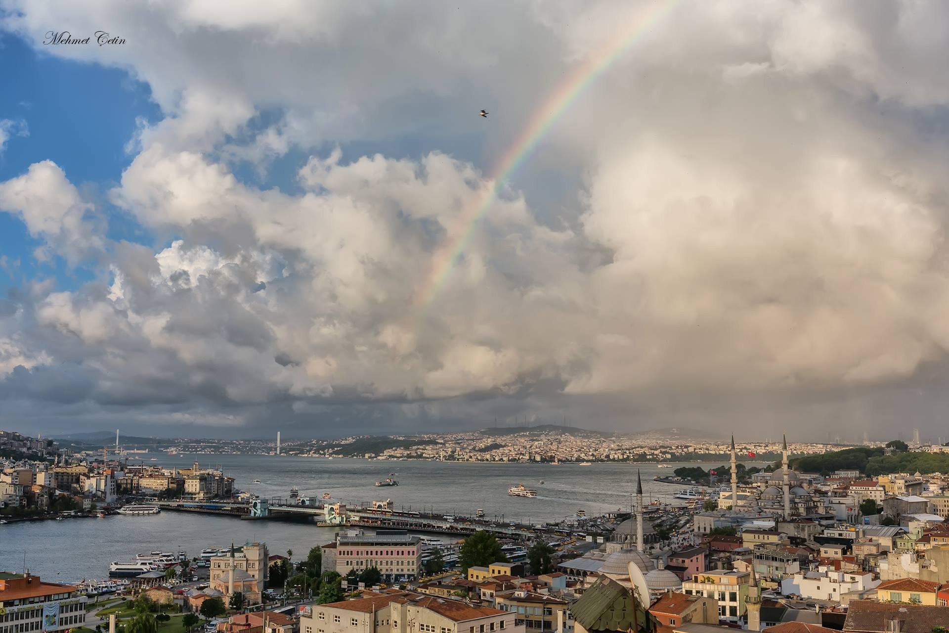İstanbul ve Gökkuşağı