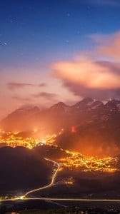 İsviçre Harika Gece iPhone 6