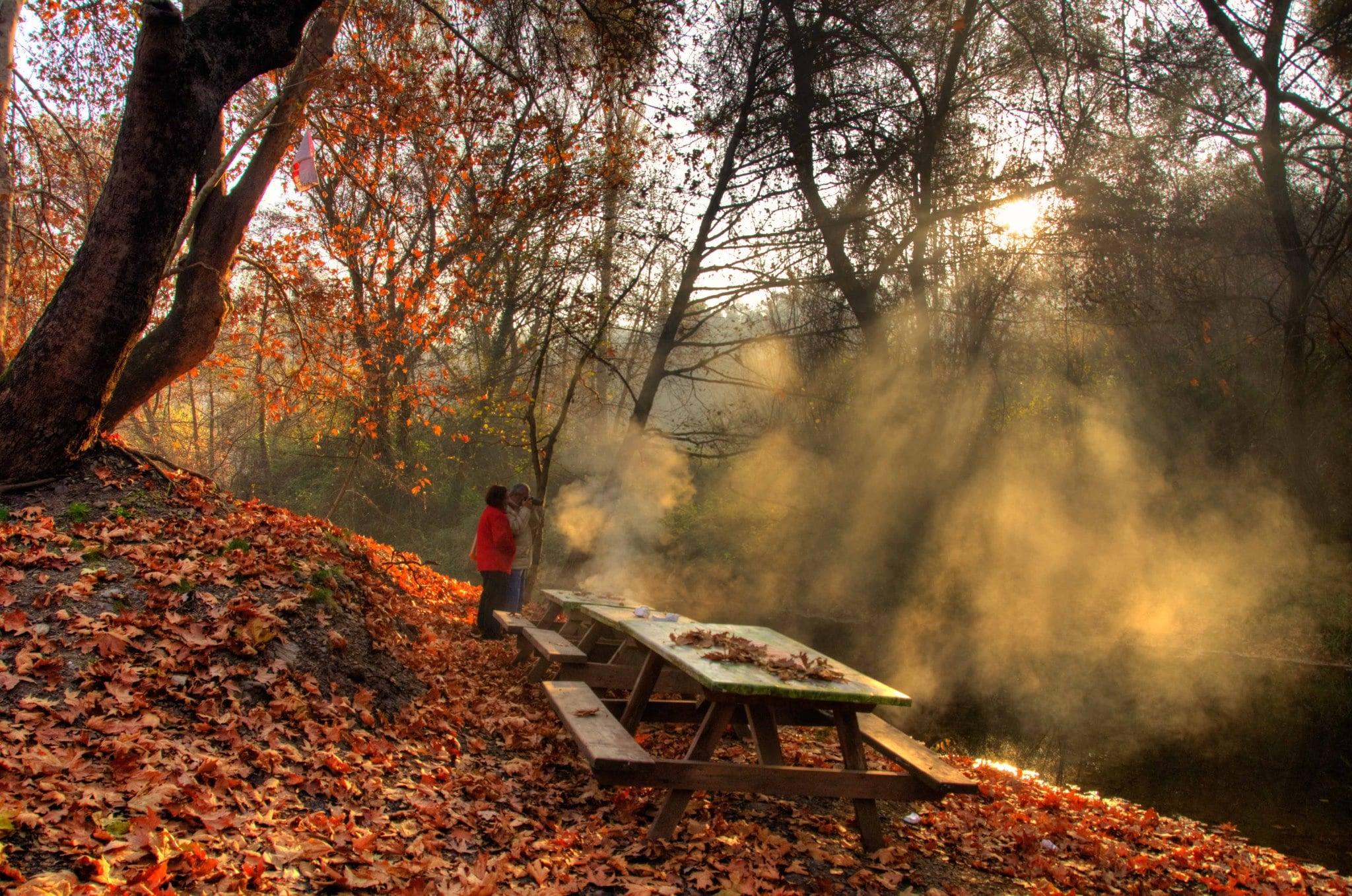 İzmir sonbahar günleri