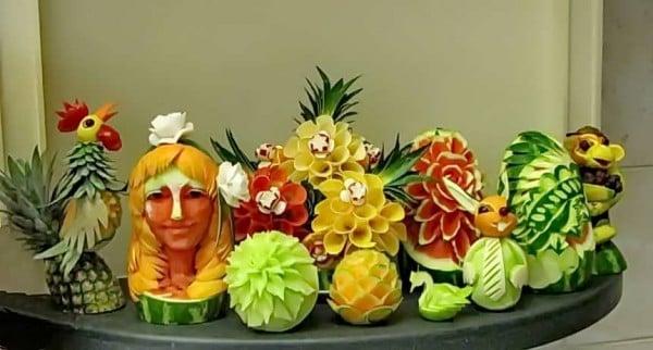 Şekilli meyveler