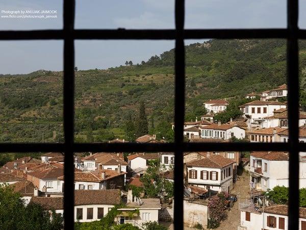şirince köyü manzarası