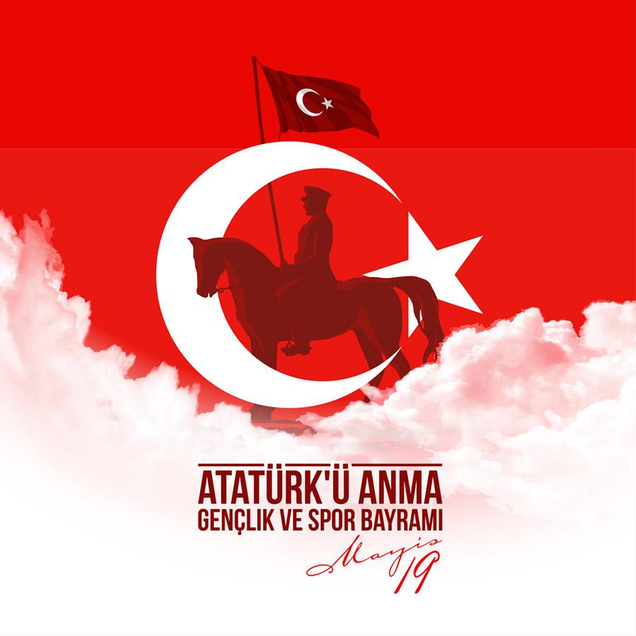 19 Mayıs Atatürk`ü Anma Gençlik ve Spor Bayramı Arka Planları