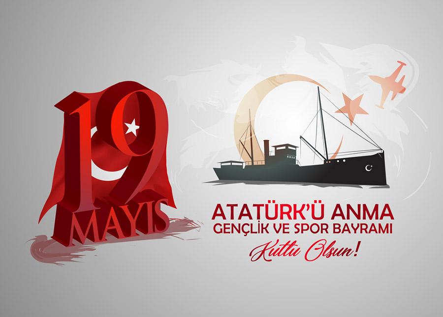 19 Mayıs Atatürk`ü Anma Gençlik ve Spor Bayramı Duvar Kağıtları