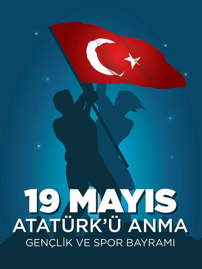 19 Mayıs Atatürk`ü Anma Gençlik ve Spor Bayramı
