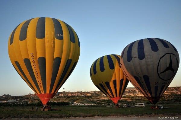 3 farklı balon