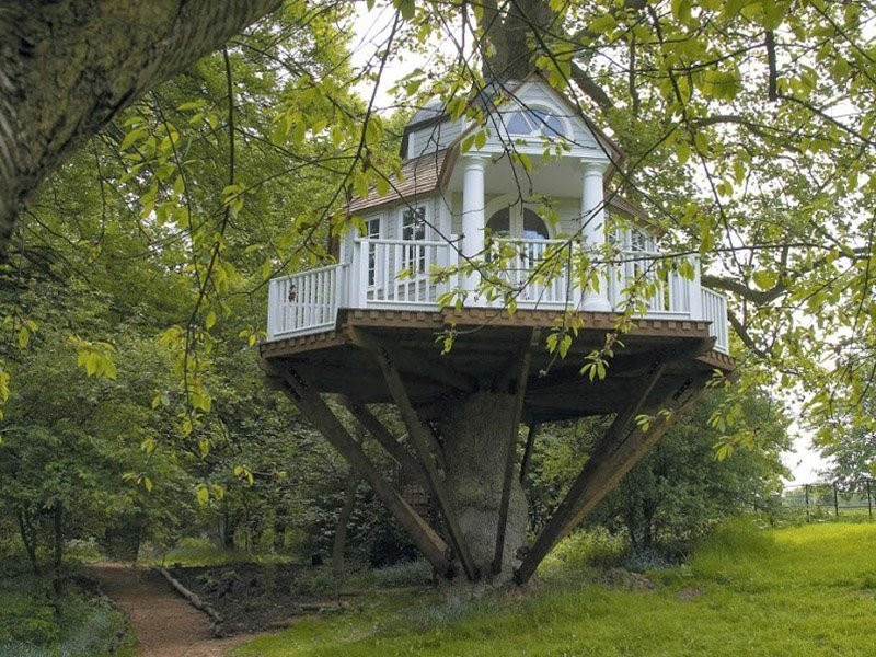 Ağaç ev resmi
