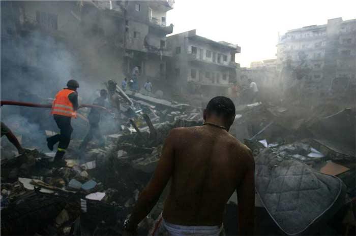Ödül Almış Fotoğraflar - Ağlayan şehir Beyrut