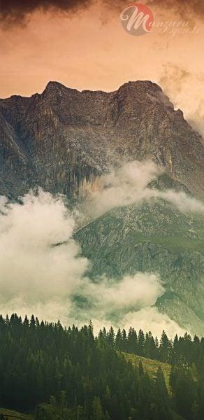 Almanya Alpleri Manzarası Note 9 Duvar Kağıdı