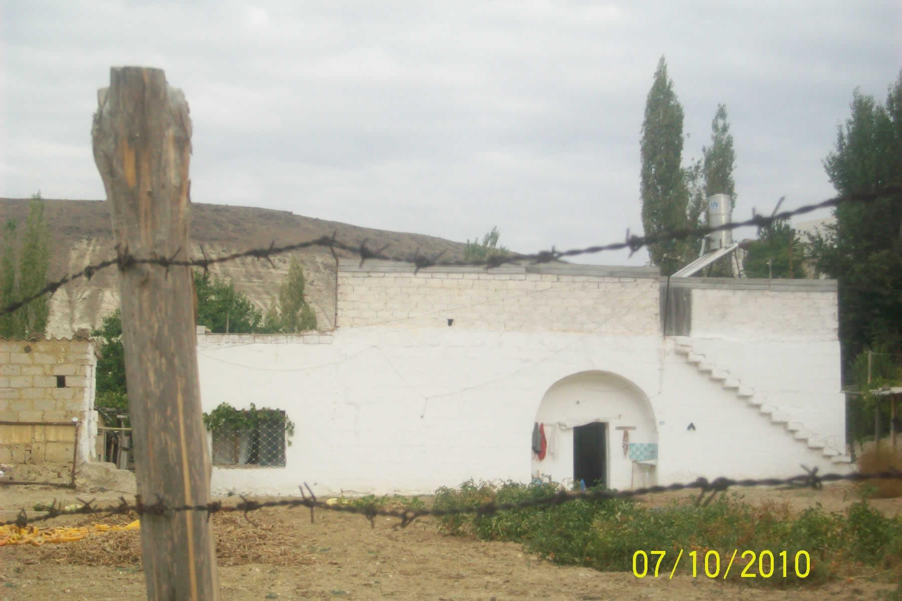 Anadoluda kesme taştan yapılmış bir köy evi