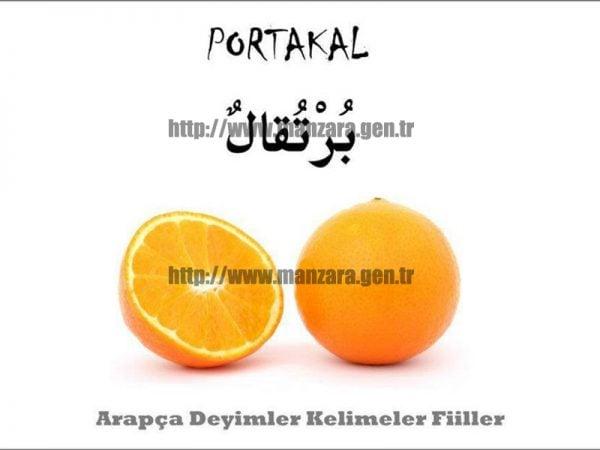 Arapça Portakal