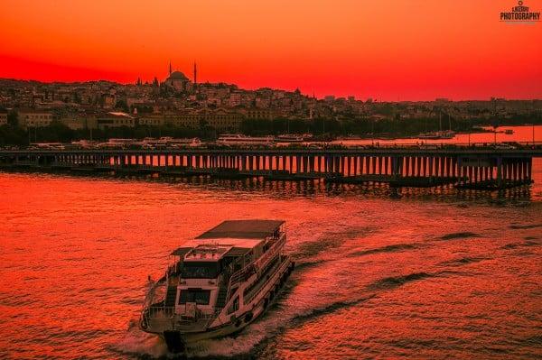 Atatürk Köprüsü Gün Batımı