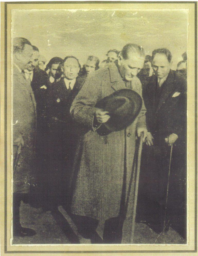 Atatürk Trabzon'da