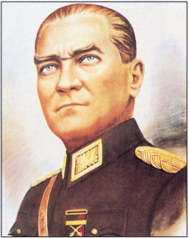 Atatürk yağlı boya tablosu