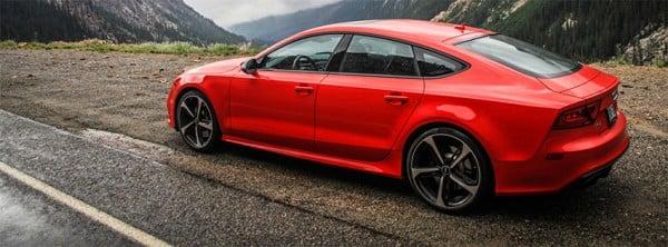 Audi Rs7 Red Facebook Kapakları