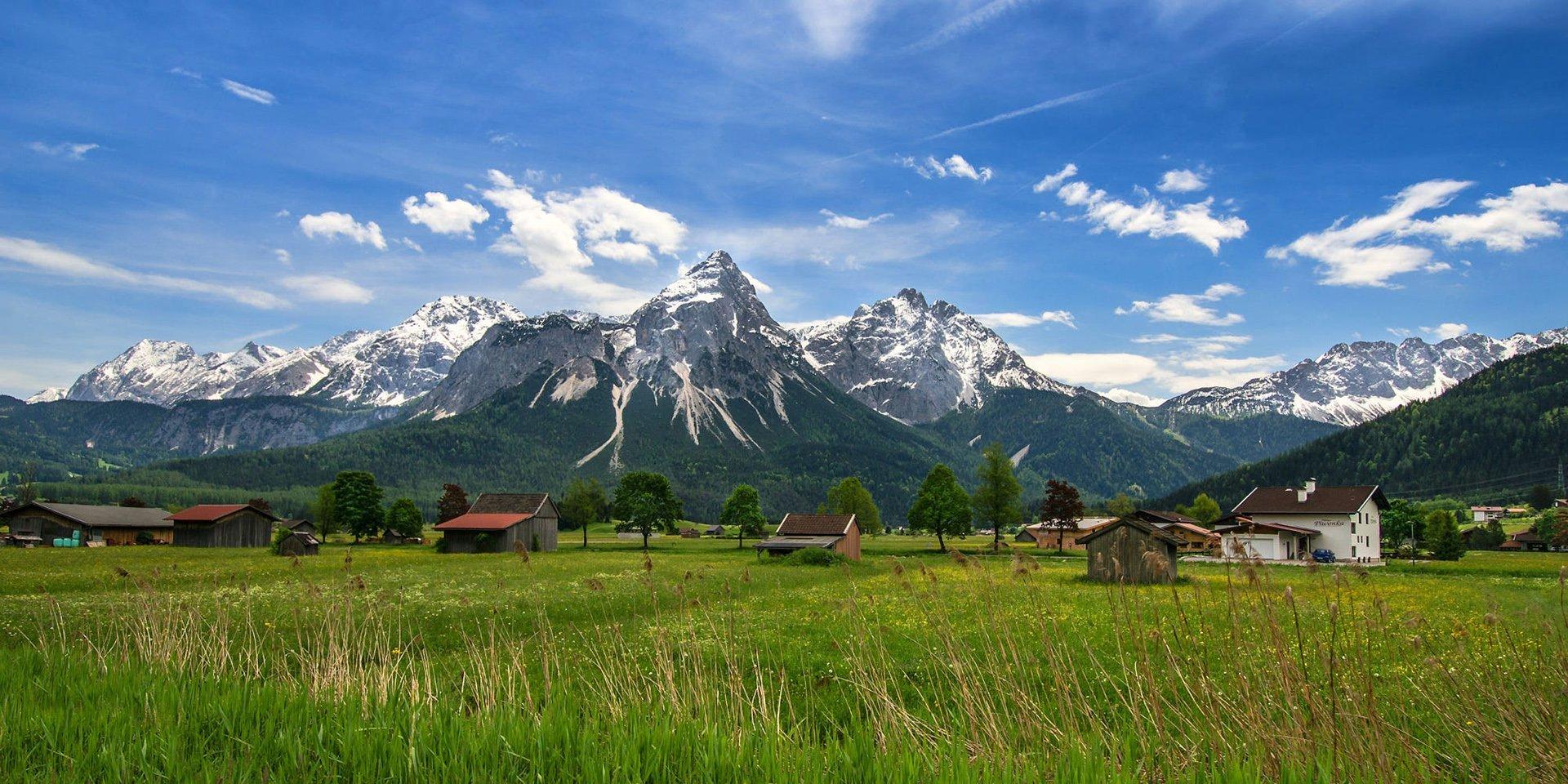 Avusturya Alpleri Manzarası