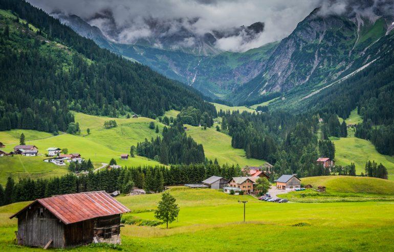 Avusturya Doğa Manzaraları