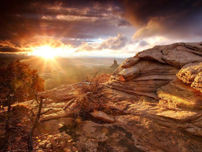 Batan Güneş Manzarası