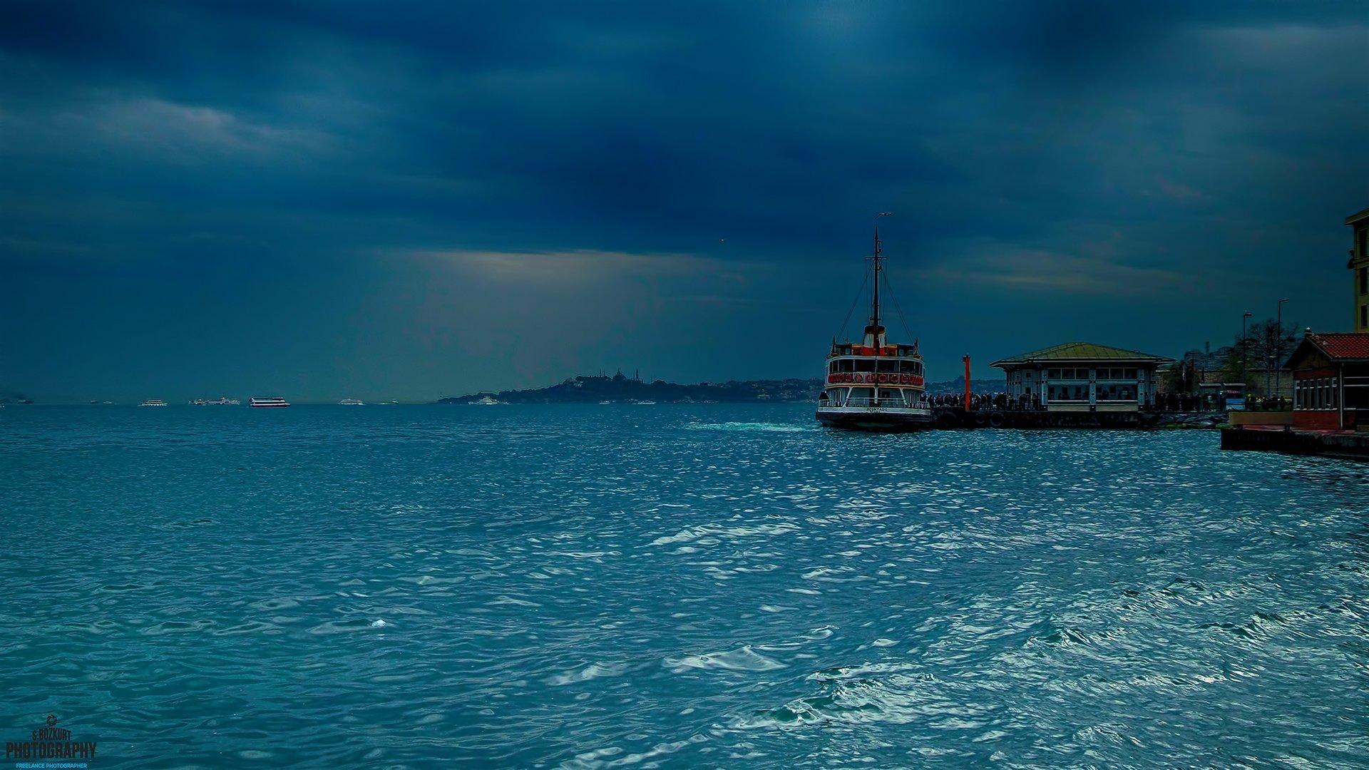 Beşiktaş iskelesinde bir gün