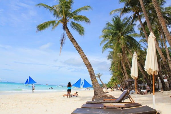 Boracay Adası - Filipinler
