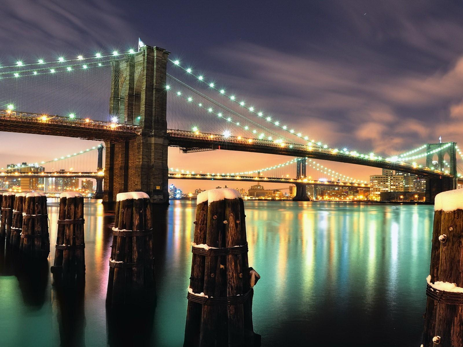 Brooklyn Köprüsü Fotoğrafı