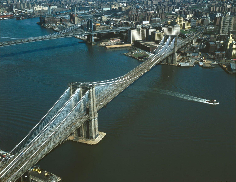 Brooklyn Köprüsü Manzarası