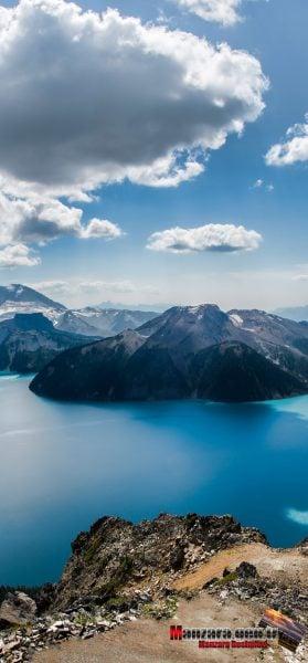 iPhone 11 Pro Max Duvar Kağıtları - Bulutlar, Dağlar ve Göl