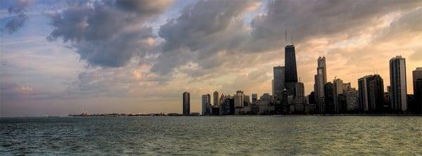 Chicago Manzarası Facebook Kapağı