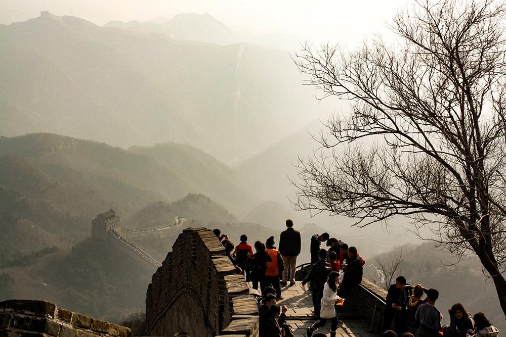 Çin Seddi'nde Son Bahar. Çin Seddi'nden Manzaralar..