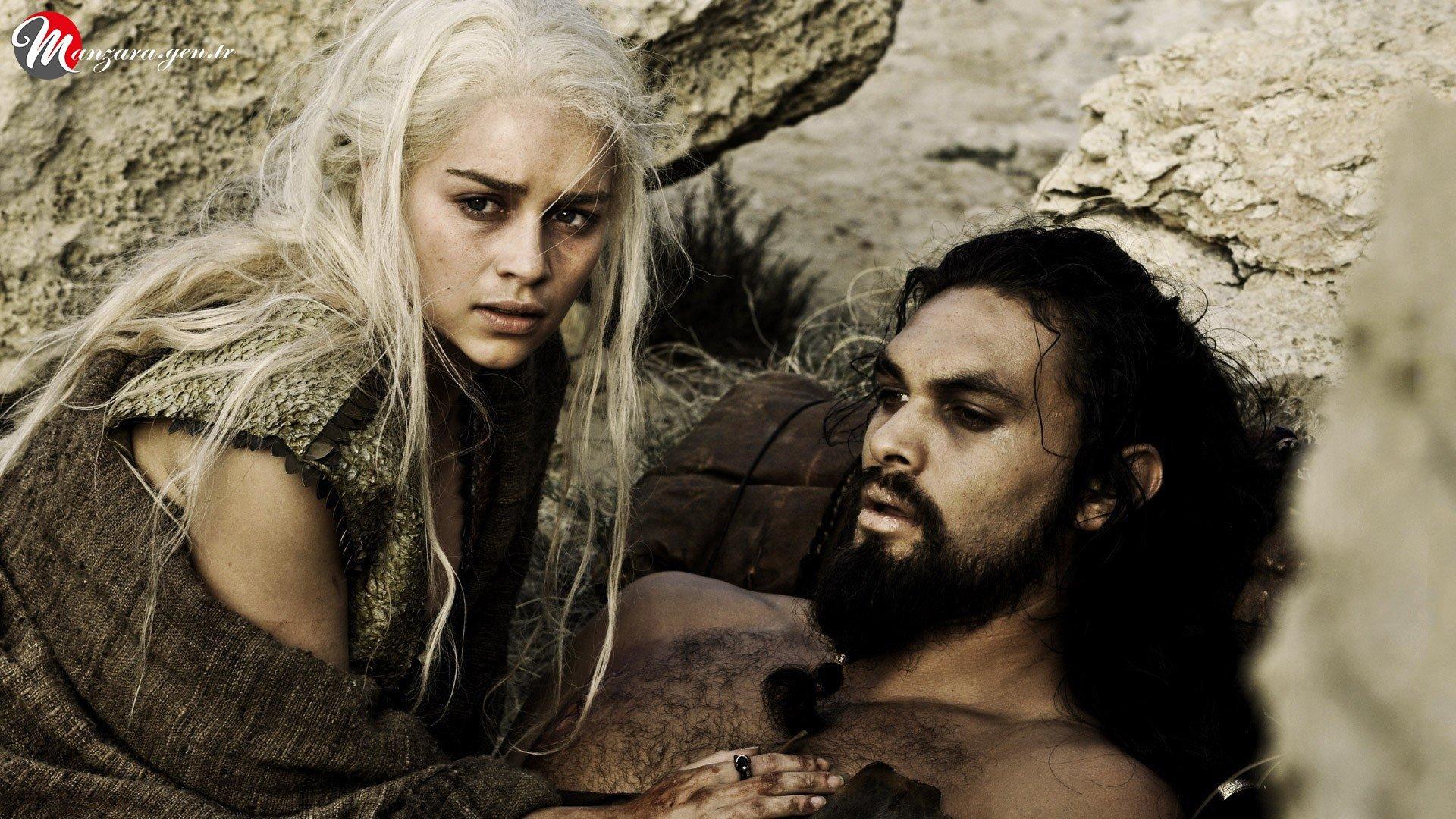 Daenerys Targaryen ve Jason Momoa