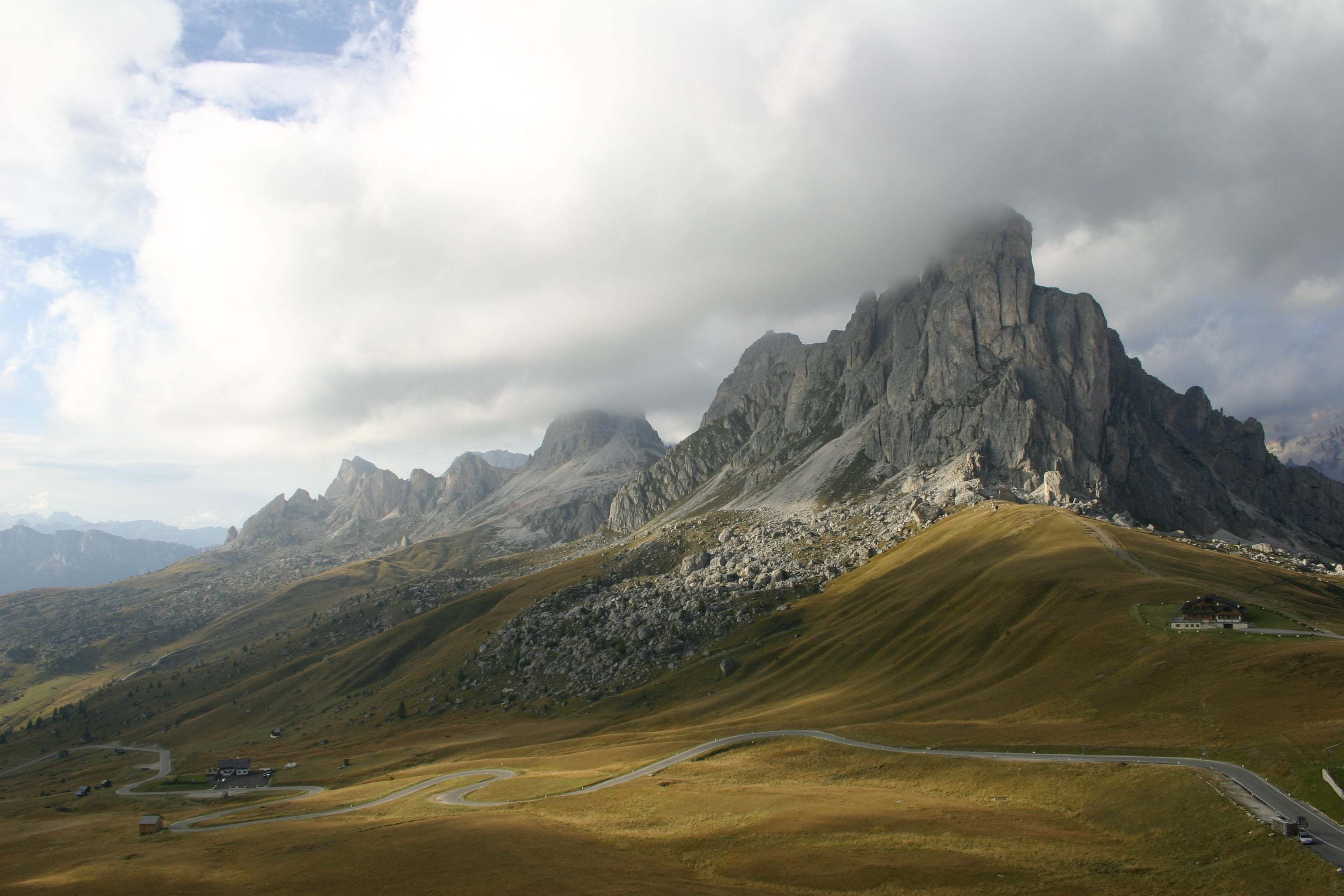Passo di Giau-İtalya