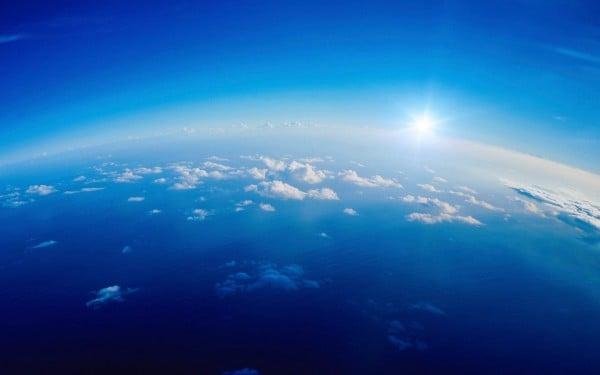 Denizde Gün Batımı Resmi