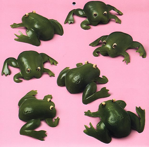 Dolmalık Biberden Kurbağa