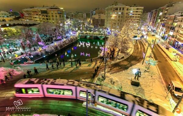 Eskişehir'de kış