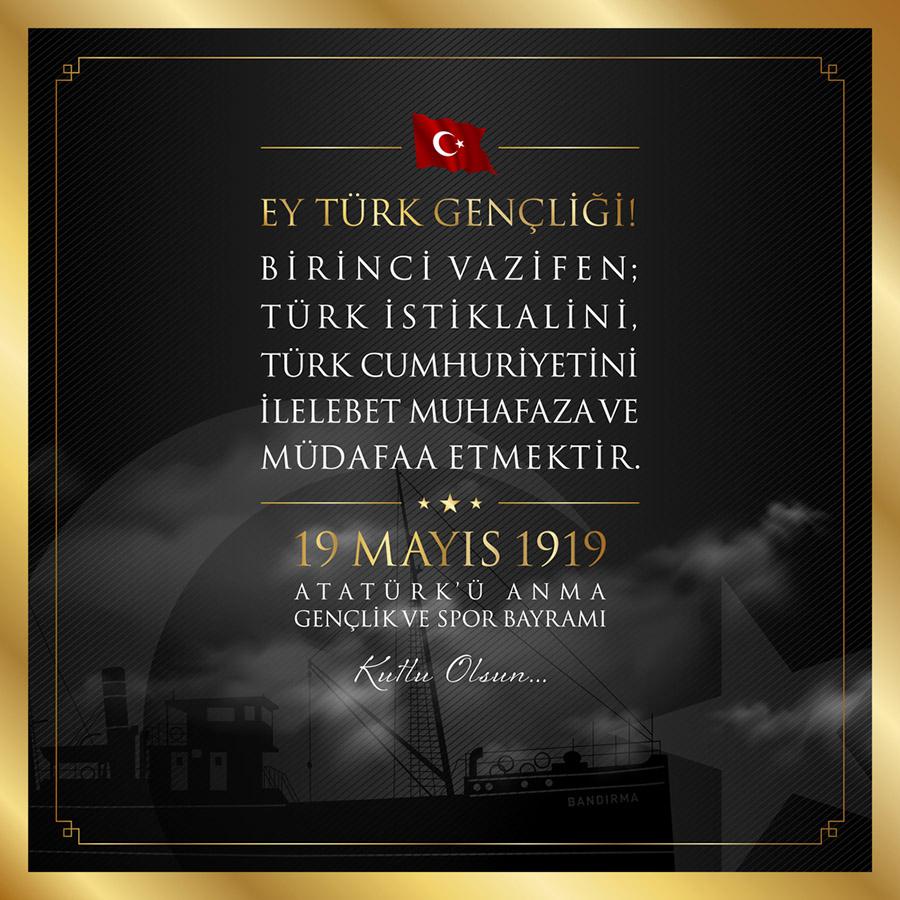 Ey Türk Gençliği! Birinci Vazifen, 19 Mayıs Görselleri