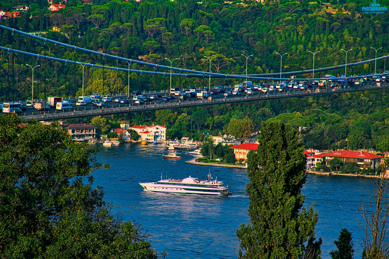 F. Sultan Mehmet Köprüsü yakın çekim