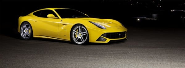 F12 Berlinetta Ferrari Yellow Facebook Kapakları