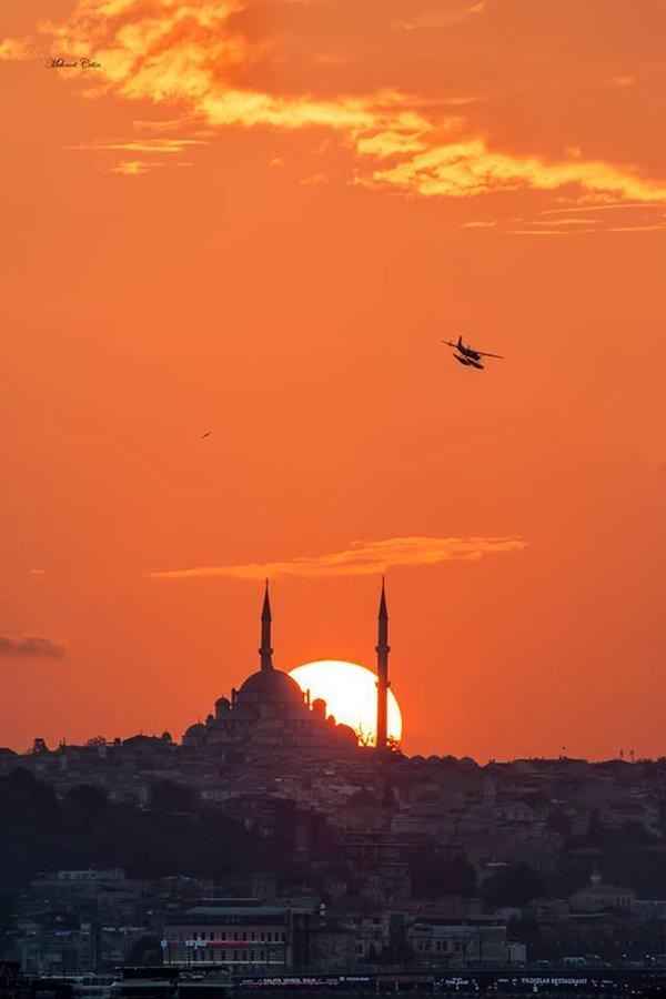 Fatih Camii Gün Batımı