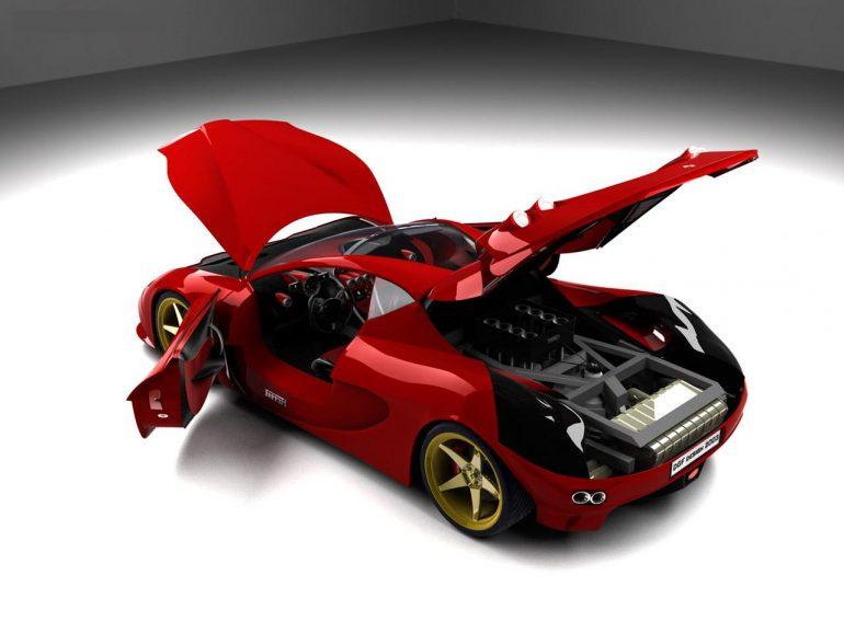 Ferrari resimleri/Ferrari Aurea