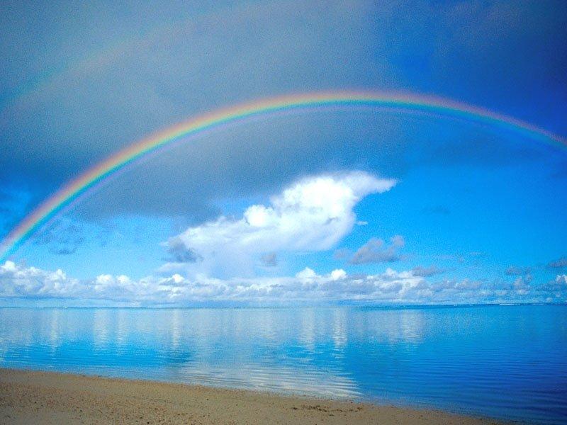 Gökkuşağı ve Deniz