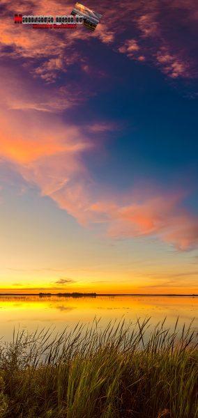 Gün Batımı ve Doğa Manzarası - Yüksek Çözünürlüklü Telefonlar için