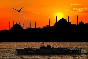 Gün Batımı İstanbul Manzarası